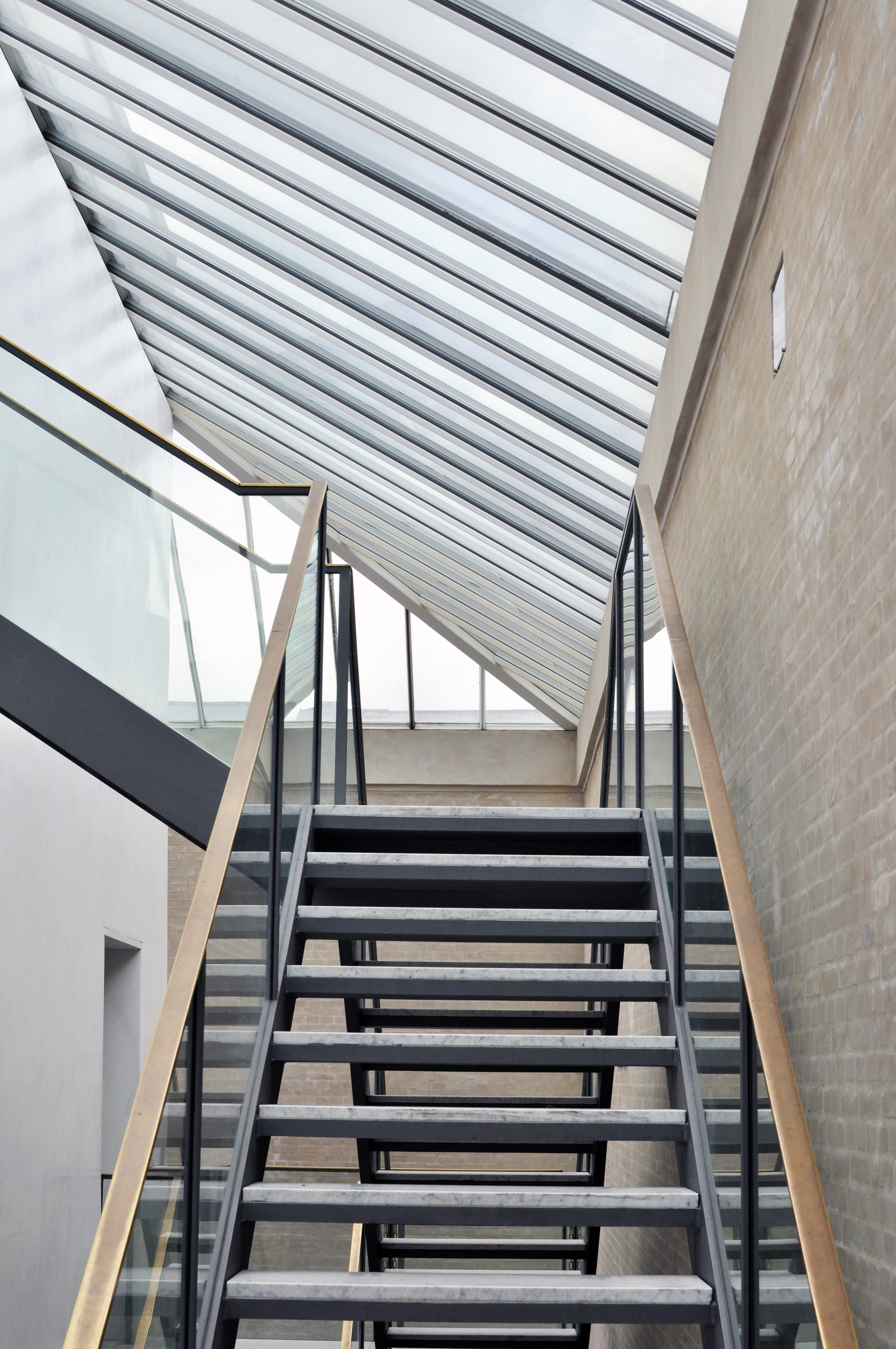 Stairs To The Roof Terrace  On Top Of Ny Carlsberg Glyptoteket Museum See It For Free In Copenhagen Oregon Girl Around The World